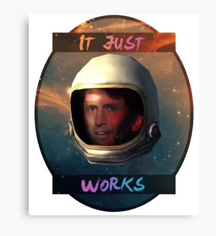 Todd Howard in Space just works Canvas Print
