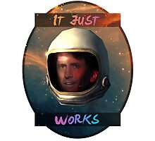 Todd Howard in Space just works Photographic Print