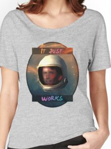 Todd Howard in Space just works Women's Relaxed Fit T-Shirt