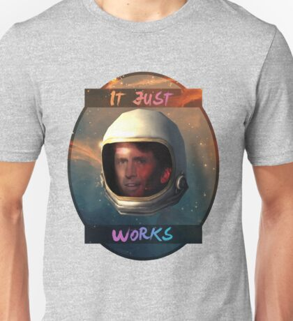 Todd Howard in Space just works Unisex T-Shirt