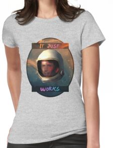 Todd Howard in Space just works Womens Fitted T-Shirt