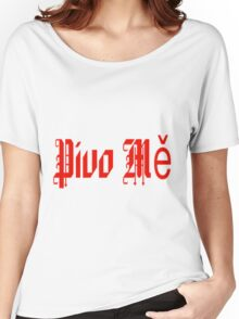 BEER ME Women's Relaxed Fit T-Shirt