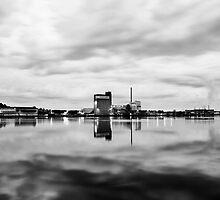 Aalborg Harbor #01 by Simon Wedege