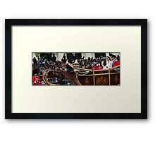 Wishing for a wave Framed Print