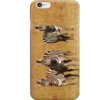 Masai Mara Zebra iPhone cover iPhone Case/Skin