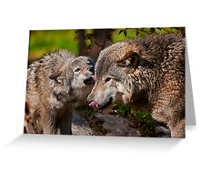 Tender Love Greeting Card