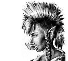 Punk Troll by georgiagoddard