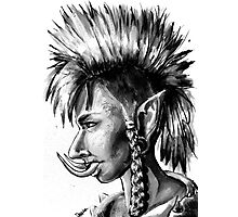 Punk Troll Photographic Print