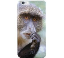 Sykes Monkey iPhone cover iPhone Case/Skin