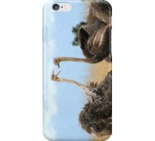 Ostrich talk - iphone cover iPhone Case/Skin