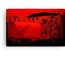 Love Letter/Air Mail Canvas Print