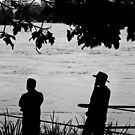 Silhouettes - Brisbane Floods 2011 by Jordan Miscamble