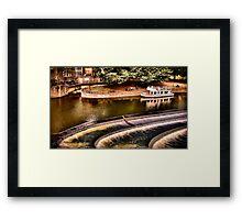 Avon River Falls Framed Print