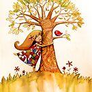 tree hugs by © Cassidy (Karin) Taylor