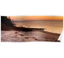 Sunset Over Pamlico Sound Poster