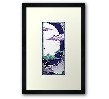 Two Trees - Moon 1 Framed Print