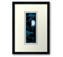 Two Trees - Moon 2 Framed Print