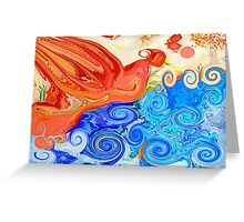 Dancing Winds Greeting Card