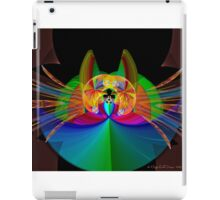 The Psychedelic Cat iPad Case/Skin