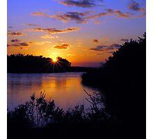Sunset at MP43 Photographic Print