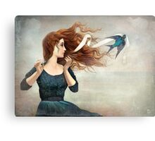 The Little Thief Metal Print