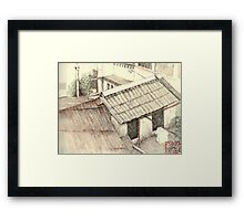 View over the rooftops, Ho Chi Minh City Framed Print
