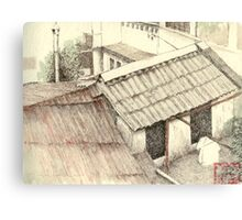 View over the rooftops, Ho Chi Minh City Canvas Print