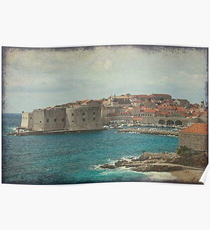 Medieval Old Town of Dubrovnik Poster
