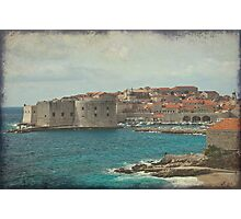 Medieval Old Town of Dubrovnik Photographic Print