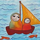 Sailing away by Kelly Gatchell Hartley