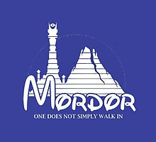 Mordor. The Lord Of The Rings by angeltrom