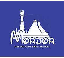 Mordor. The Lord Of The Rings Photographic Print