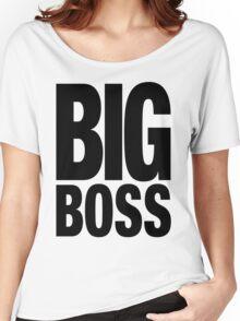 BIG BOSS (Black) Women's Relaxed Fit T-Shirt