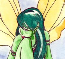 Fall Fairy Sticker