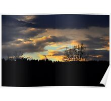 Duvall Sunset Poster