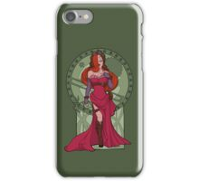 Steampunk Jessica Nouveau Digital T shirt iPhone Case/Skin