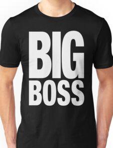 BIG BOSS (White) Unisex T-Shirt