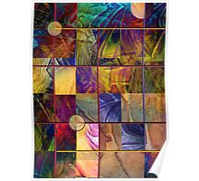 Emotive Tapestry Poster