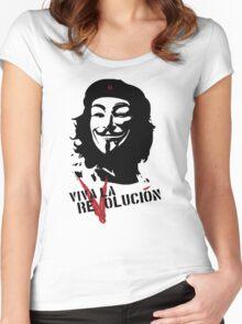 Viva la Revolución Women's Fitted Scoop T-Shirt