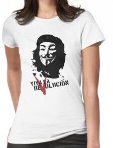 Viva la Revolución Womens Fitted T-Shirt