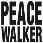 PEACE WALKER (Black) by Koukiburra