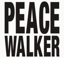 PEACE WALKER (Black) by Koukiburra