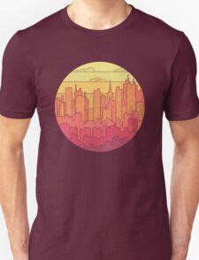 Rainbow city urban landscapes T-Shirt