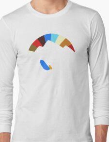 Last Man On Earth Rainbow Mountain w/ Waves Phil Miller Long Sleeve T-Shirt