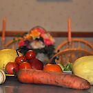 Fall Harvest Display by Anne Gitto