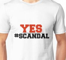Scandal - Olivia Pope YES Unisex T-Shirt