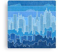 Rainbow urban Canvas Print