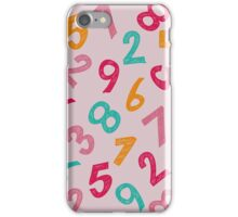 Children Numbers iPhone Case/Skin