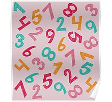 Children Numbers Poster