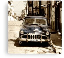 De Soto Blues  Canvas Print